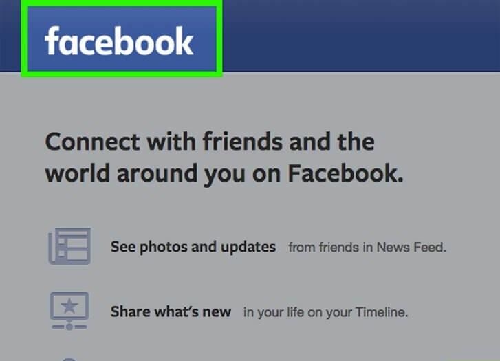 як увійти у фейсбук за допомогою компютера