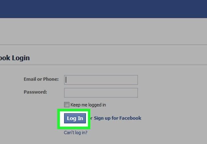 як увійти у фейсбук
