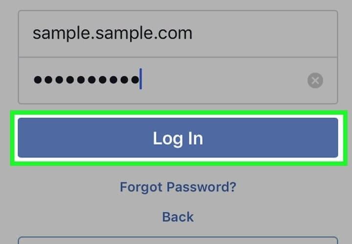 як зайти на свою сторінку в фейсбуці