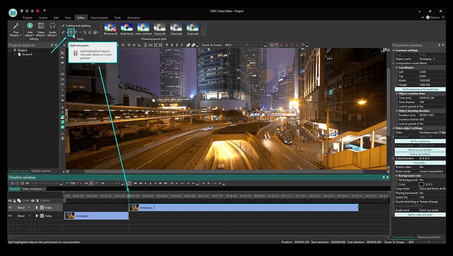 Відеоредактор VSDC Free Video Editor