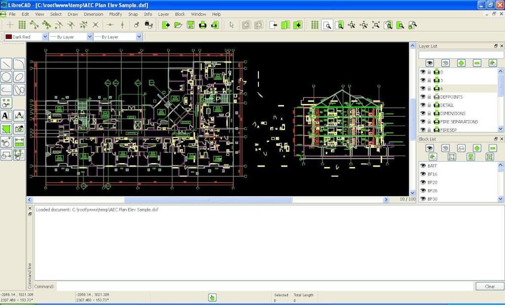 програма для креслення LibreCAD