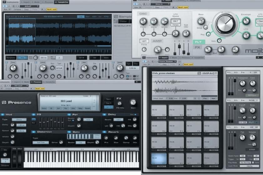 програми для створення музики Presonus