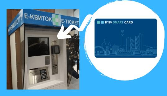 де поповнити kyiv smart card