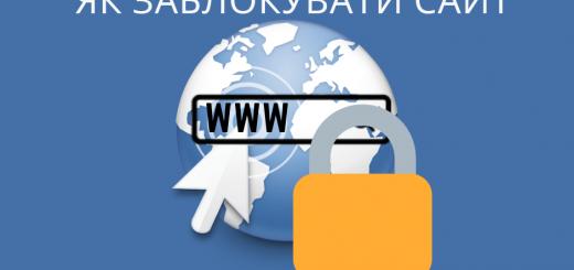 як заблокувати сайт в chrome
