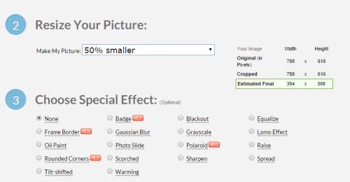 Як змінити розмір зображення онлайн