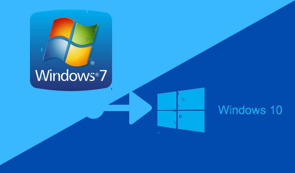 як оновити windows 7 до windows 10