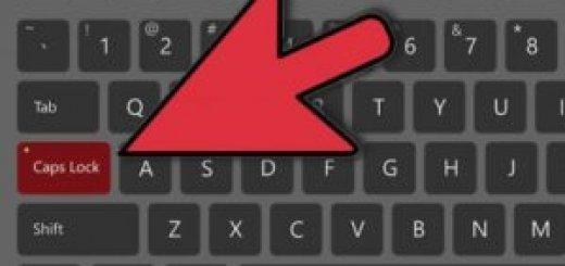 caps lock на клавіатурі